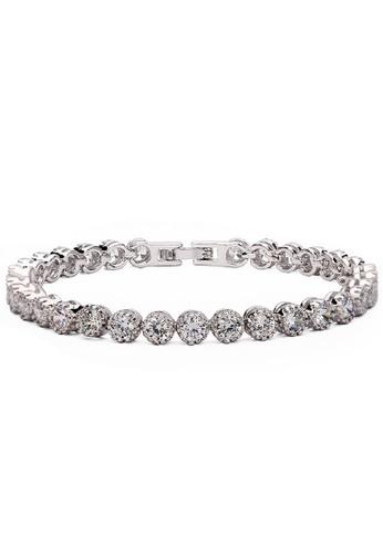 Vivere Rosse silver Sparkling Beauty Bracelet VI014AC19DVOMY_1