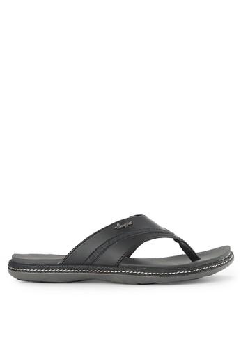 Homyped black Sandiago 01 Men Sandals HO842SH0VNJ6ID_1