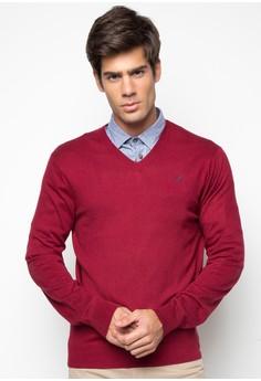 Silk Mix V-Neck Sweater