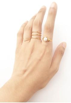 Juliet Ring Set (Howlite)
