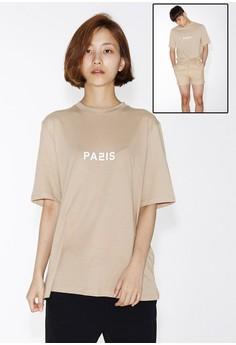 Love City Paris 短袖上衣