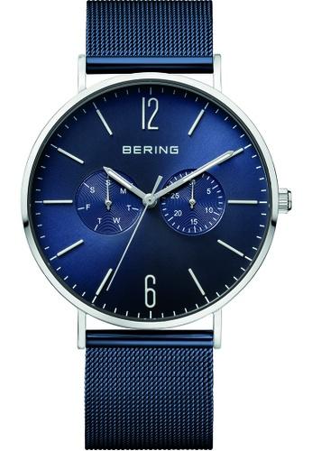Bering silver Bering Classic Blue 40 mm Men's Watch (14240-303) 9CBD5AC4A211A0GS_1