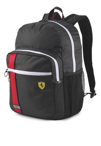 PUMA black Puma x Ferrari Race Backpack 58A55AC843704BGS_1