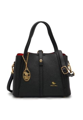 POLO HILL black POLO HILL Neat Look Handbag AF36FAC2D46BBCGS_1