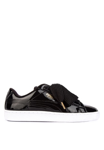 8ed64b7a4d9a Shop Puma Basket Heart Patent Women s Sneakers Online on ZALORA Philippines