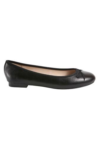 MAUD FRIZON black Soft Patent Ballerinas 93E0FSH565427CGS_1
