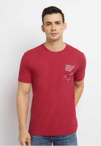 Osella red Osella Baju Pria Tshirt Printed Always Red 093DAAABDE80DAGS_1