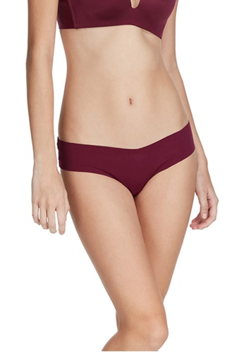 6IXTY8IGHT red FONTANA SOLID, No-show Lace Hipster Panty PT09711 18014USB90718AGS_1