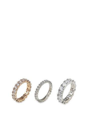 ALDO multi Uniawen Rings 02258AC326802BGS_1