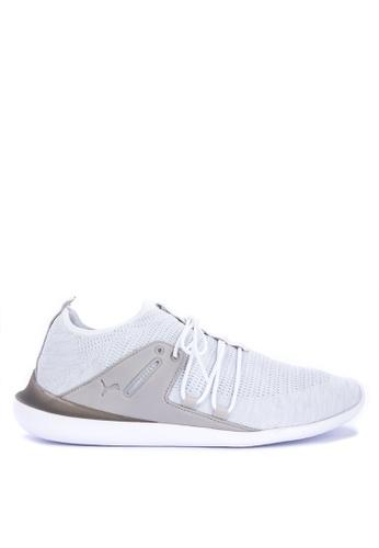 Puma white SF Evo Cat Sock Lace LS Sneakers DCAC8SHD108C82GS_1