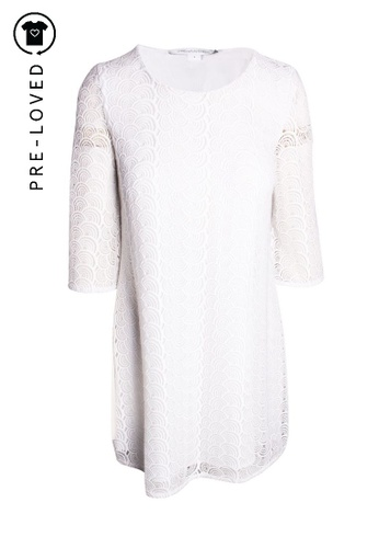 Diane Von Furstenberg white Pre-Loved diane von furstenberg Round Lace Dress With White Lining CA024AAA52BEC8GS_1