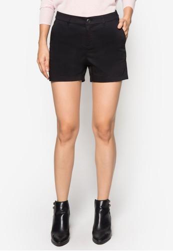 簡約休閒短褲,esprit outlet hk 服飾, 西裝短褲