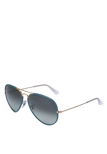 Ray-Ban gold Unisex 0RB3025JM Sunglasses A0FA3GL067149EGS_1