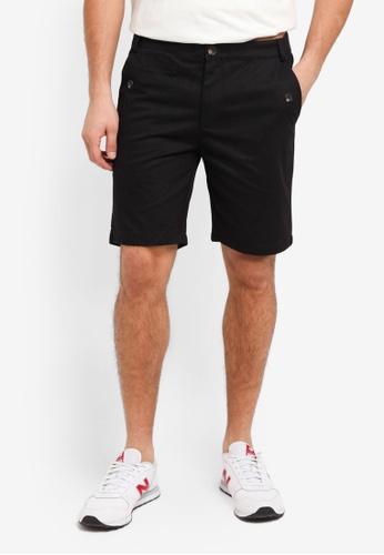 Flesh IMP 黑色 Butler Plain Shorts 242A3AA0370B5FGS_1