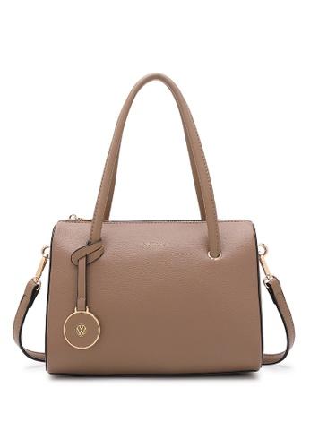 Volkswagen beige Women's Hand Bag / Top Handle Bag / Shoulder Bag 1B082ACFAA2F36GS_1