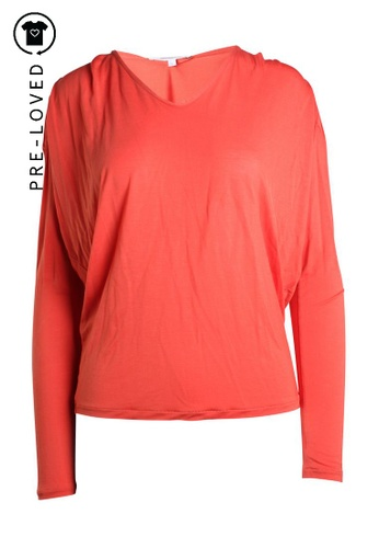 Vanessa Bruno orange Pre-Loved vanessa bruno Orange Long Sleeve Top 33FB4AA702582BGS_1