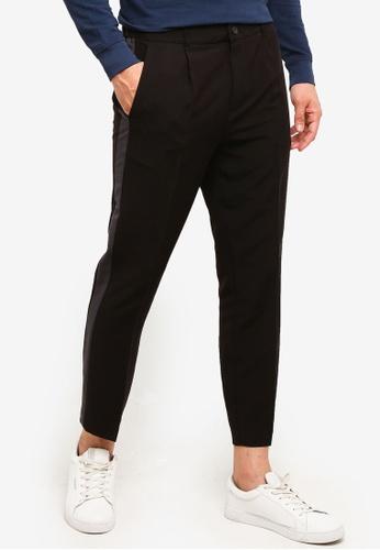 OVS 黑色 Trend 長褲 With Band 7F5ACAAA35F90DGS_1