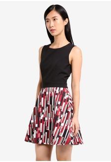 Buy womens fashion online zalora hong kong fit and flare print dress e4305aafa9bafcgs1 zalora stopboris Images