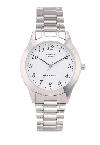 Casio silver Casio MTP-1128A-7BRDF Watch 4FFCFACD3179A3GS_1