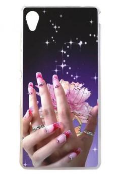 Sony Xperia M4 Aqua Elegant Hand Design Hard Case