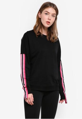 OVS black Women's Sweatshirt 8E07BAA299209BGS_1