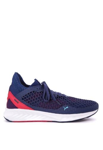 Puma blue IGNITE EverFit / NETFIT Shoes PU758SH0JIKSPH_1