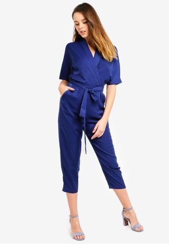 712319d0987d Buy ZALORA Kimono Sleeves Wrap Jumpsuit Online on ZALORA Singapore