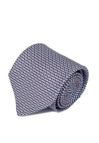 Ferragamo 藍色 絲綢領帶(zt) E2730AC169961DGS_1
