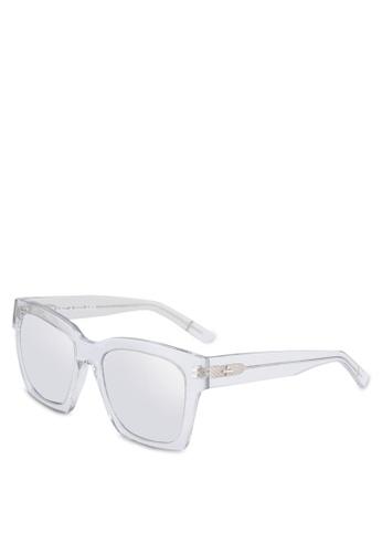 BLANC & ECLARE white New York Sunglasses 1A327GL83F9E49GS_1