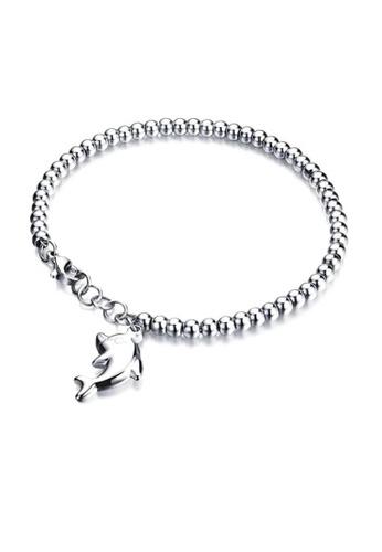 ADORA Stainless Steel Bead Bracelet 09FF4AC04B69C7GS_1