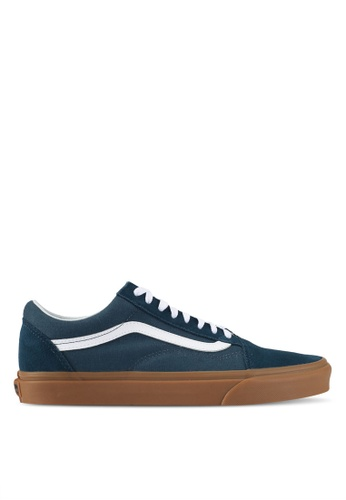VANS blue Old Skool Sneakers VA142SH0SWN6MY_1