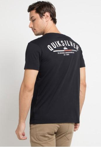 Quiksilver black and multi Simple Colour T-Shirt B5723AA0DE18F7GS_1