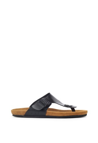 Navara brown Anson Black EVA Sandals 2F988SH56FBC83GS_1