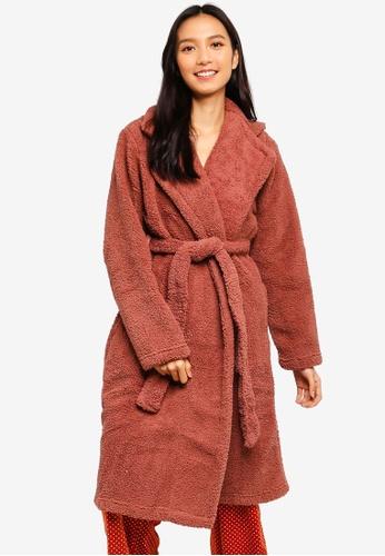 Cotton On Body brown Teddy Gown 2098DAA74DB464GS_1