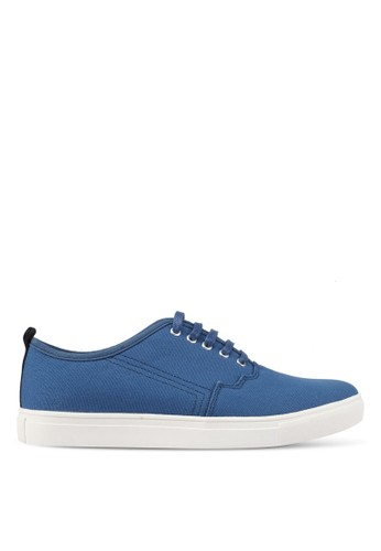 JAXON blue Kanvas Casual Sneakers 7BB5FSH50FEC00GS_1