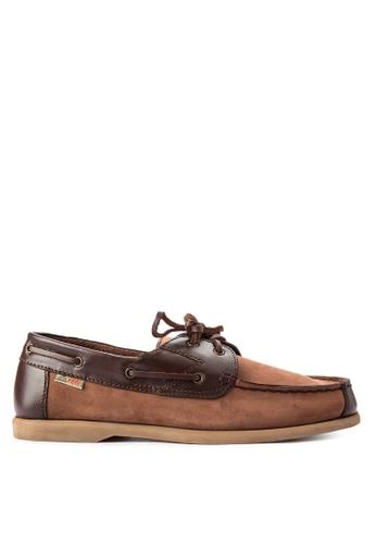Itti brown Ed-21 Loafers IT425SH0JANZPH_1