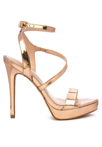 ALDO gold Poade Heels 6DE67SH6BEE0CFGS_1