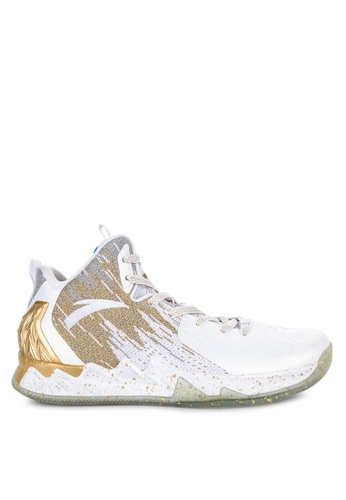 Anta white KT2 Finals Chase Home Basketball Shoes 60C40SH5611CC6GS_1