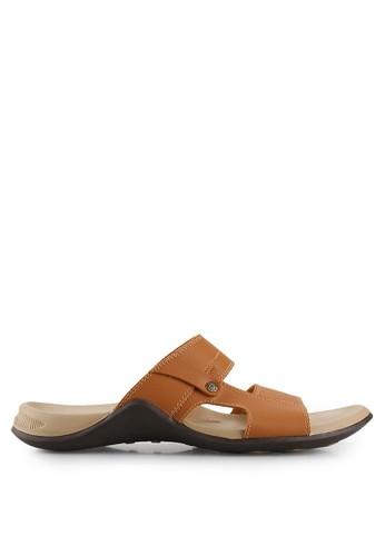 Homyped brown Subaru 03 Men Sandals HO842SH74SORID_1