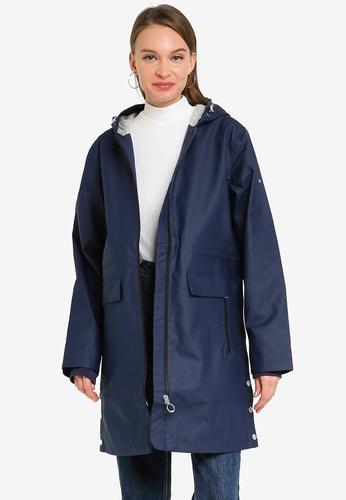 Superdry 海軍藍色 防水連帽外套 B9B48AA5D59F65GS_1