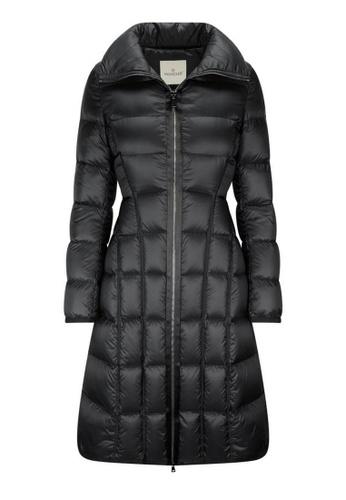 "Moncler black Moncler ""Bellevalia"" Down Coat in Black CF5F5AA34C316CGS_1"