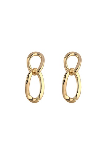Glamorbit gold Gold Statement Earrings 01A57AC30BE41BGS_1