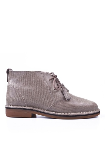 Hush Puppies grey Hush Puppies CYRA CATELYN BASANT In Taupe Shimmer HU319SH0H9E6SG_1