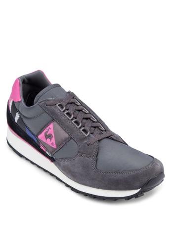 Le Coq Sportif grey Eclat 90 Graphic Sneakers LE751SH71TFWMY_1