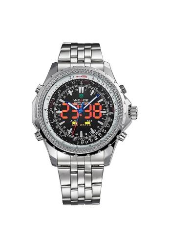 Weide black WH904-1C Analog Watch WE088AC76KWDPH_1