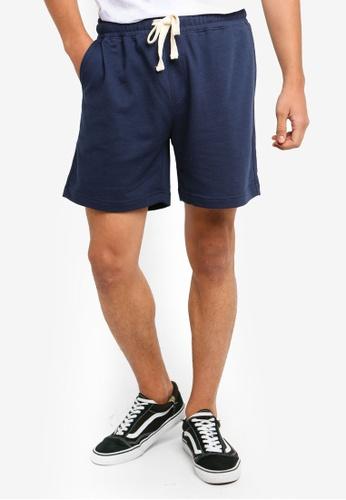Cotton On 海軍藍色 慢跑短褲 092DCAA3171B3DGS_1