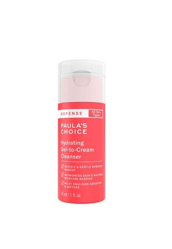 Paula's Choice Defense Hydrating Gel-To-Cream Cleanser 30 ml 0B192BE95DB632GS_1