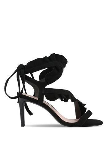 House of Avenues black Ruffled Heels HO685SH0RRBXMY_1