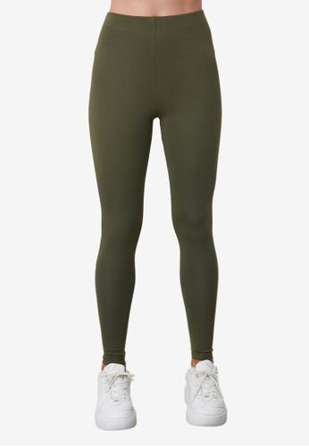 Trendyol green Thermal Knitted Leggings AB012AAE582B59GS_1