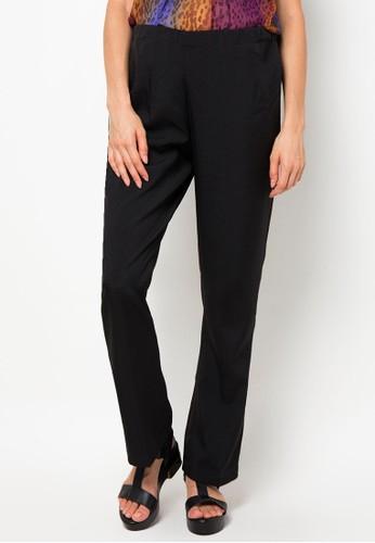 Chantilly black Chantilly Celana panjang katun stretch kaki lebar adjustable 81024 CH841AA11VQYID_1